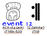 event 12 in mayan glyphs