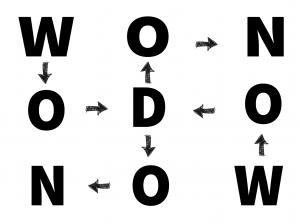 Design patter of Wodon or Odin name.